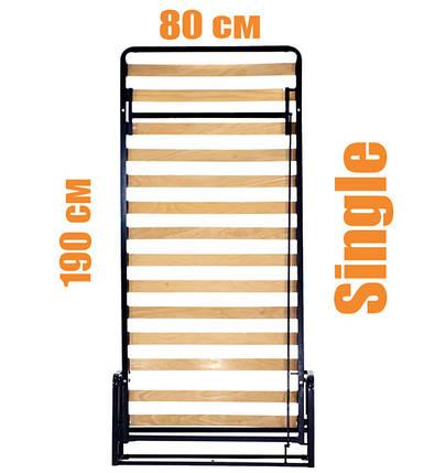 Вертикальная откидная кровать LWB Small Single, фото 2