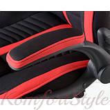 Кресло Prime black/red, фото 2