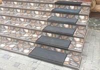 Антискользящая резиновая накладка на ступени (75х33 см)