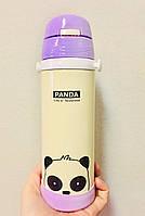 Термос детский Панда фиолетовая 500 мл