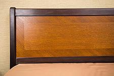 Кровать двуспальная деревянная  с ящиками (интарсия) Сити Микс мебель, цвет на выбор, фото 3