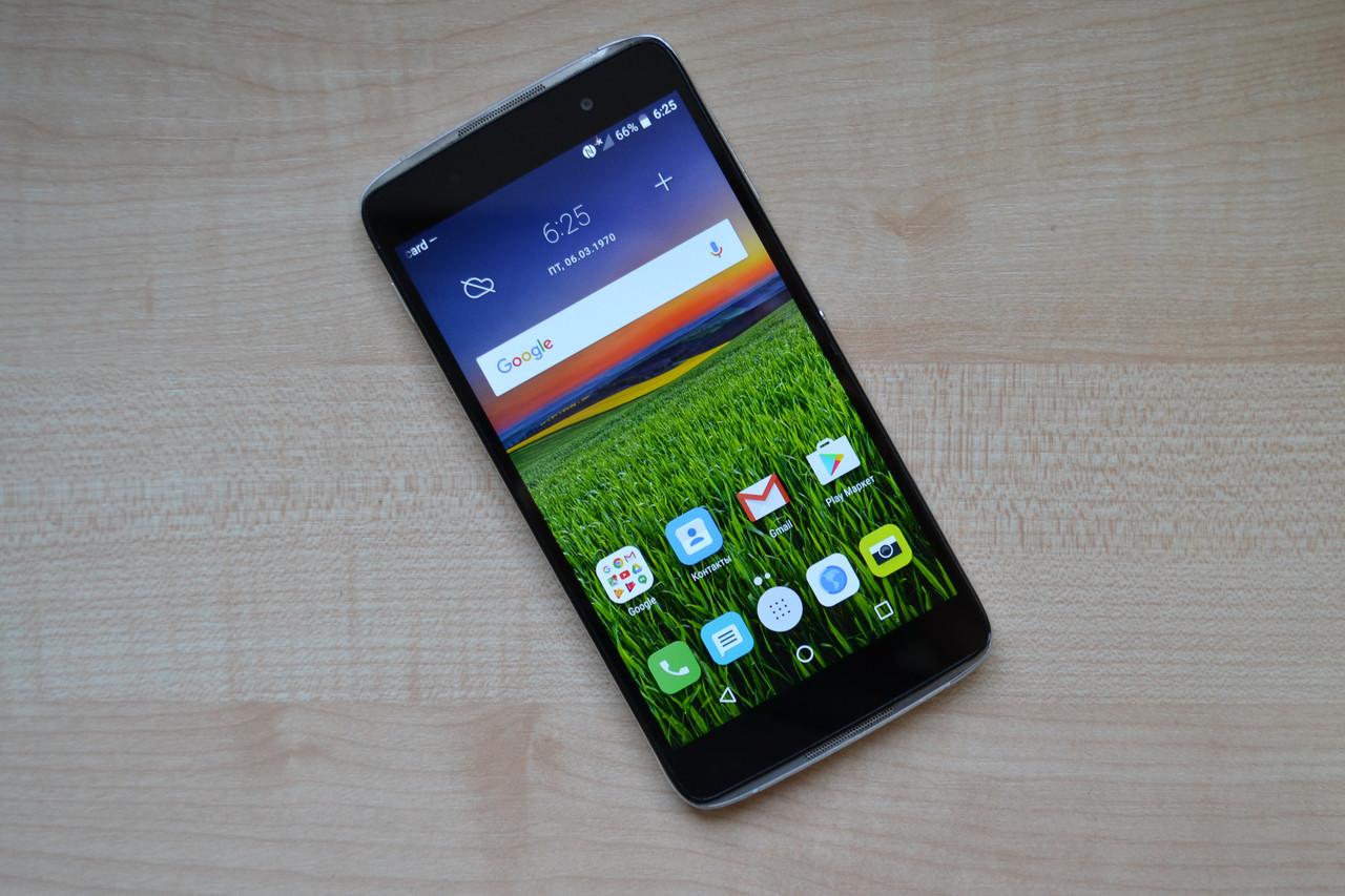 Смартфон Alcatel Idol4 - 5.2'', 16Gb, 13MP, 2610 mAh Black Оригинал!