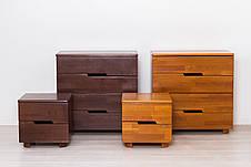 Кровать двуспальная деревянная  без изножья  Айрис Микс мебель, цвет на выбор, фото 3