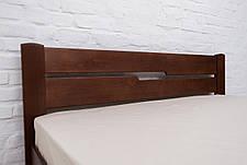 Кровать двуспальная деревянная  без изножья  Айрис Микс мебель, цвет на выбор, фото 2