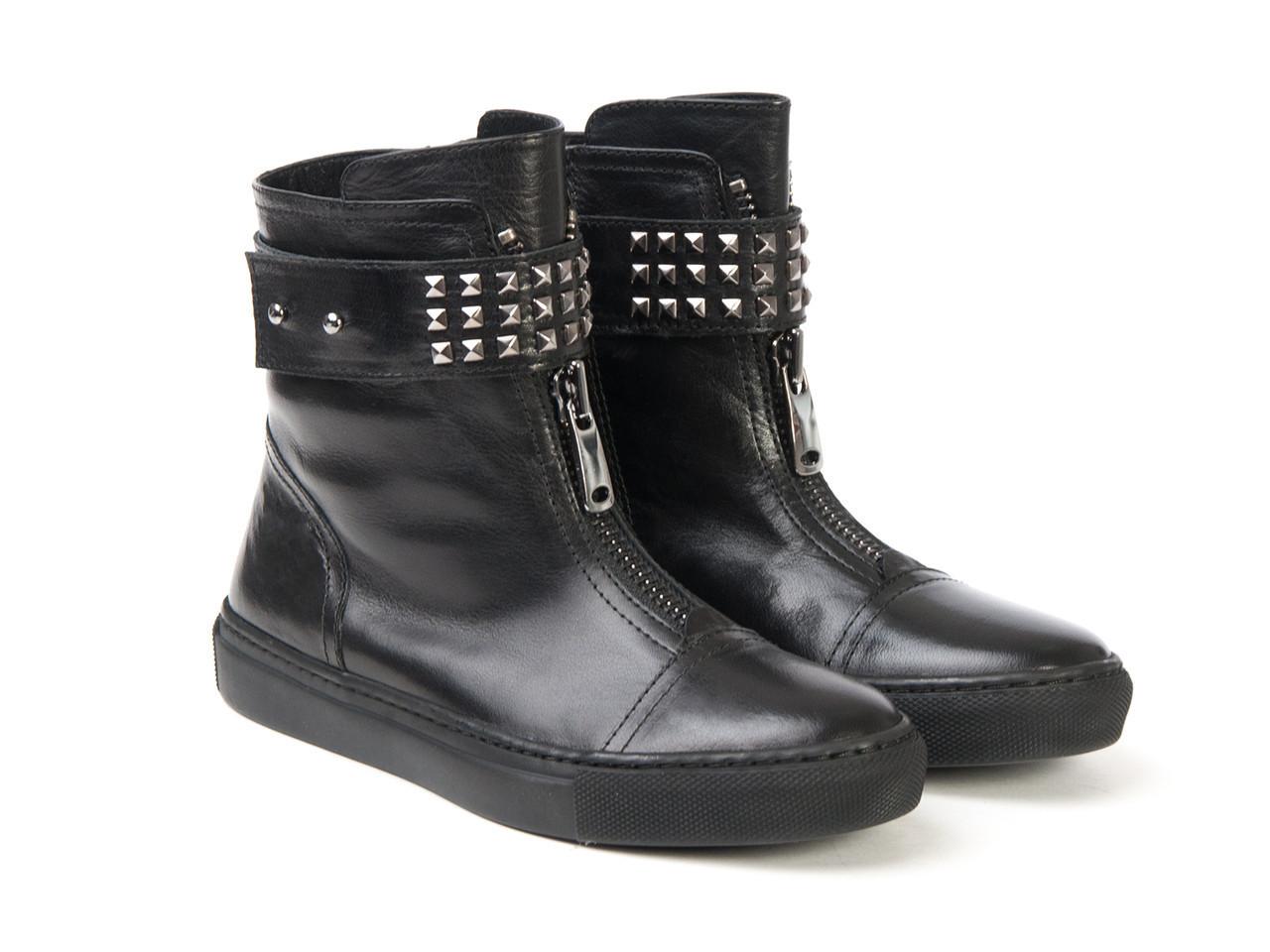 Ботинки Etor 4398-7165 37 черные
