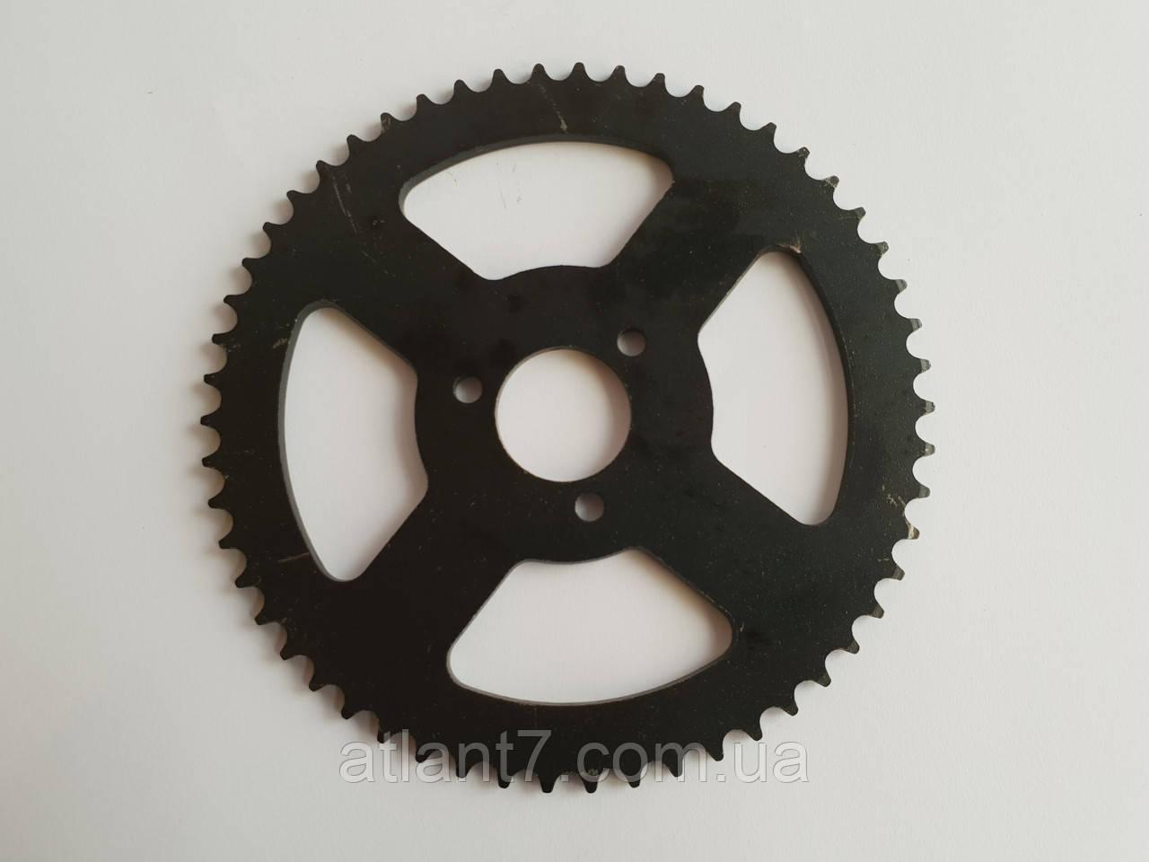 Задня зірка ведена для міні-байка, міні крос -байка ,Pocket bike 49 куб.см.