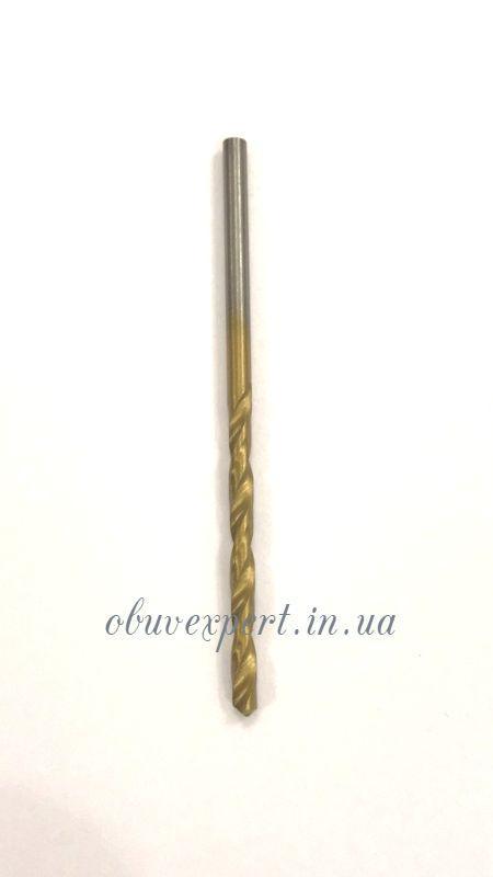 Сверло по металлу Р6М5 2,4 мм титан