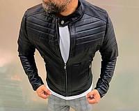 Мужская кожаная куртка 0394