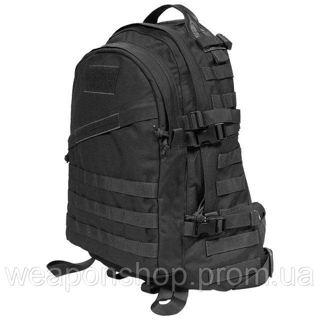 Тактический рюкзак Tactical 3D BLACK (40 литров)