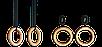 Кольца гимнастические, кольца для crossfit, фото 2