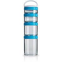 Контейнер спортивный BlenderBottle GoStak Starter 4 Pak (ORIGINAL) Aqua