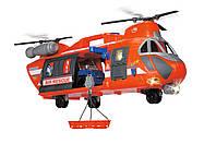 Dickie Большой Вертолет 56 см Спасательная служба свет звук 3309000, фото 1