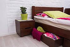 Кровать двуспальная деревянная с ящиками  Айрис Микс мебель, цвет на выбор, фото 3