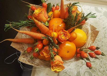 """Фруктовый букет """"Осенний"""""""