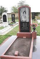 Памятник из красного гранита №123