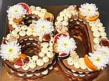 Торт ЦИФРЫ на День Рождения  - 80, фото 3