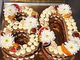 Торт ЦИФРЫ на День Рождения  - 80, фото 4