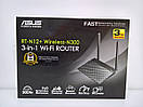 Asus RT-N12+ Wireless-N300 Маршрутизатор /Роутер Wi-Fi, фото 2