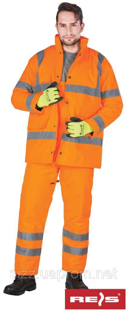 Зимний костюм со светоотражающими полосами U-VIS, фото 1