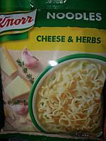 Лапша быстрого приготовления - Knorr Итальянский сыр -это замечательный источник Protienа /Венгрия/