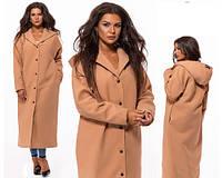 1025UAH. 1025 грн. В наличии. Женское длинное пальто с капюшоном ... 594d4d8316214