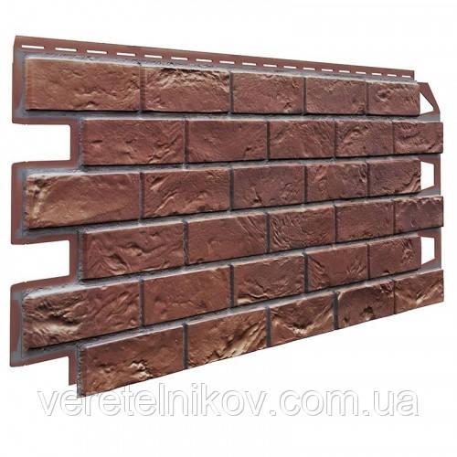 Фасадные панели Vox Solid Brick (Кирпич). Цокольный сайдинг., фото 1