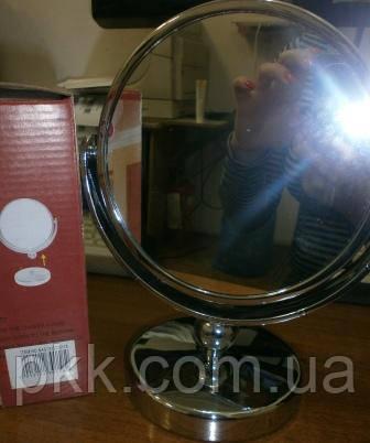 01-118 Дзеркало кругле на підставці Viva