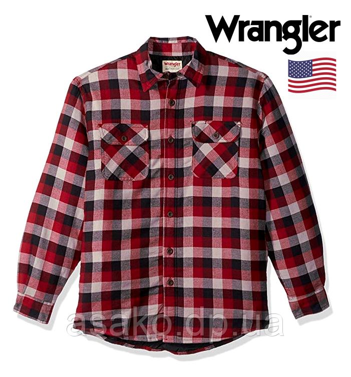 20e47d69bccfc97 Рубашка-куртка Wrangler®(США)(XL)/утепленная/Оригинал из США ...