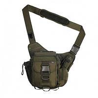 Тактическая плечевая сумка, фото 1