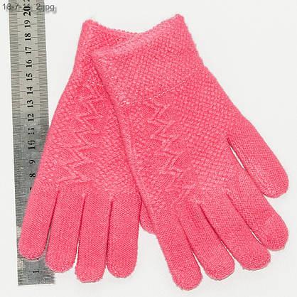 Оптом перчатки для девочек 7-11 лет - №18-7-11, фото 2