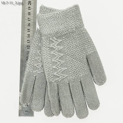Оптом перчатки для девочек 7-11 лет - №18-7-11, фото 3