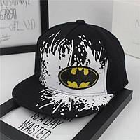 Детская кепка с прямым козырьком Бэтмен SnapBack
