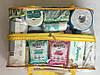 Набор из 3 прозрачных сумок в роддом Mommy Bag сумка - S,M,L - Белые, фото 6