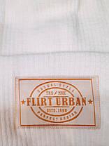 Модная шапка Канзас молочная, фото 3