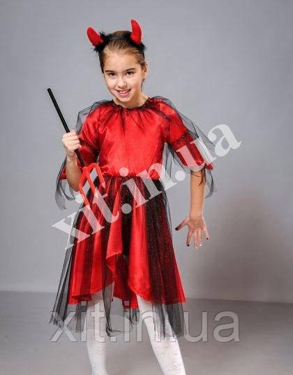 Костюм на Хэллоуин -Чертик