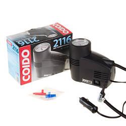 Автомобильный компрессор COIDO (300psi) манометр AC 2116 (10)