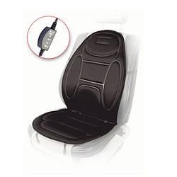 Накидка на сиденье Vitol 108-49 см с подогревом (H 96035 BK)