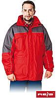 Зимняя куртка рабочая с водонепроницаемой пропиткой Reis Польша (утепленная спецодежда) WIN-RED CS, фото 1