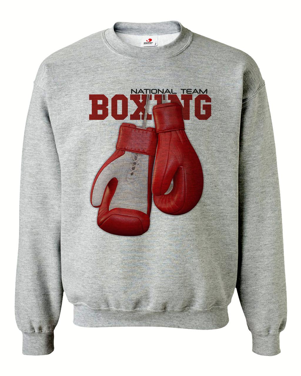 """Свитшот на флисе """"Boxing"""""""