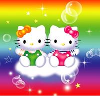 """Салфетки бумажные праздничные """"Хелло Китти"""" (Hello Kitty) 20шт/уп"""