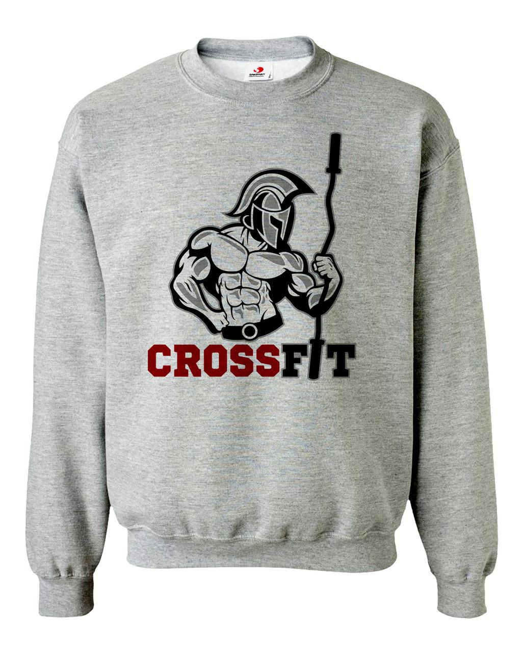 """Свитшот на флисе """"Crossfit"""""""