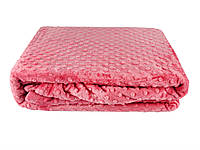 Плед-покрывало 200х220 HOBBY TOMURCUK т.розовый