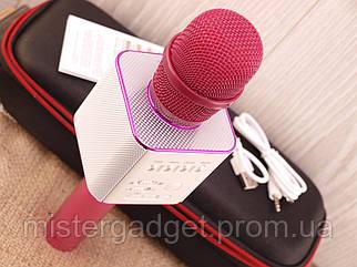 Мікрофон для караоке Q9 Violet Колонка