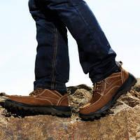 Мужские кожаные супер теплые ботинки  внутри шерсть Gucci  2 цвета