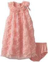 Nannette Baby-Girls Infant 2 Pieced Knit Dress & Panty