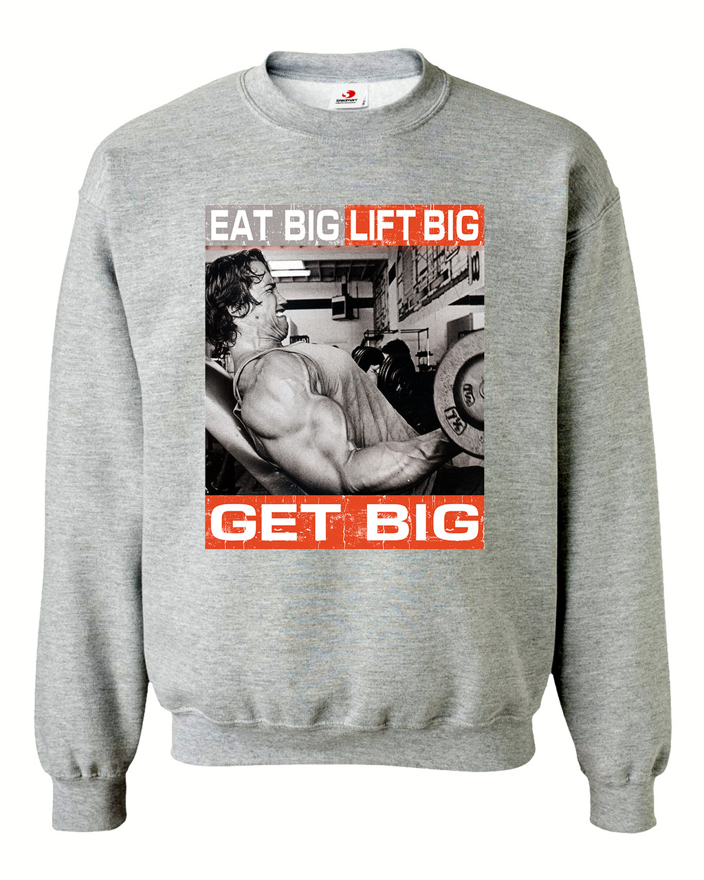 "Свитшот на флисе ""Get big"""