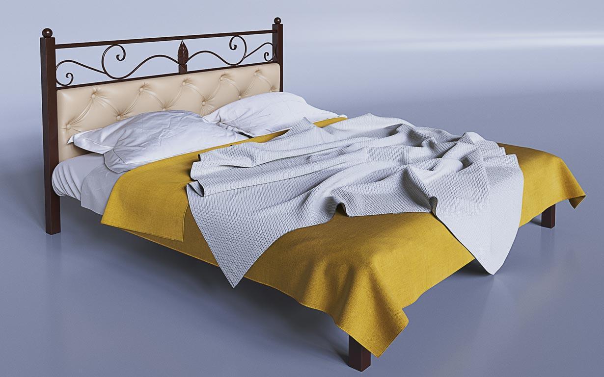 Кровать металлическая Диасция Tenero