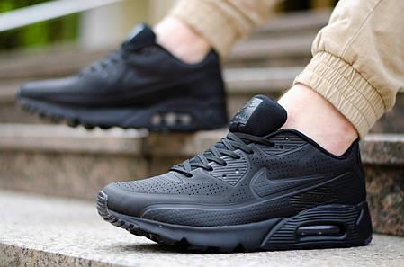 "Кроссовки Nike Air Max 90 Ultra Moire FB ""All Black"", фото 2"