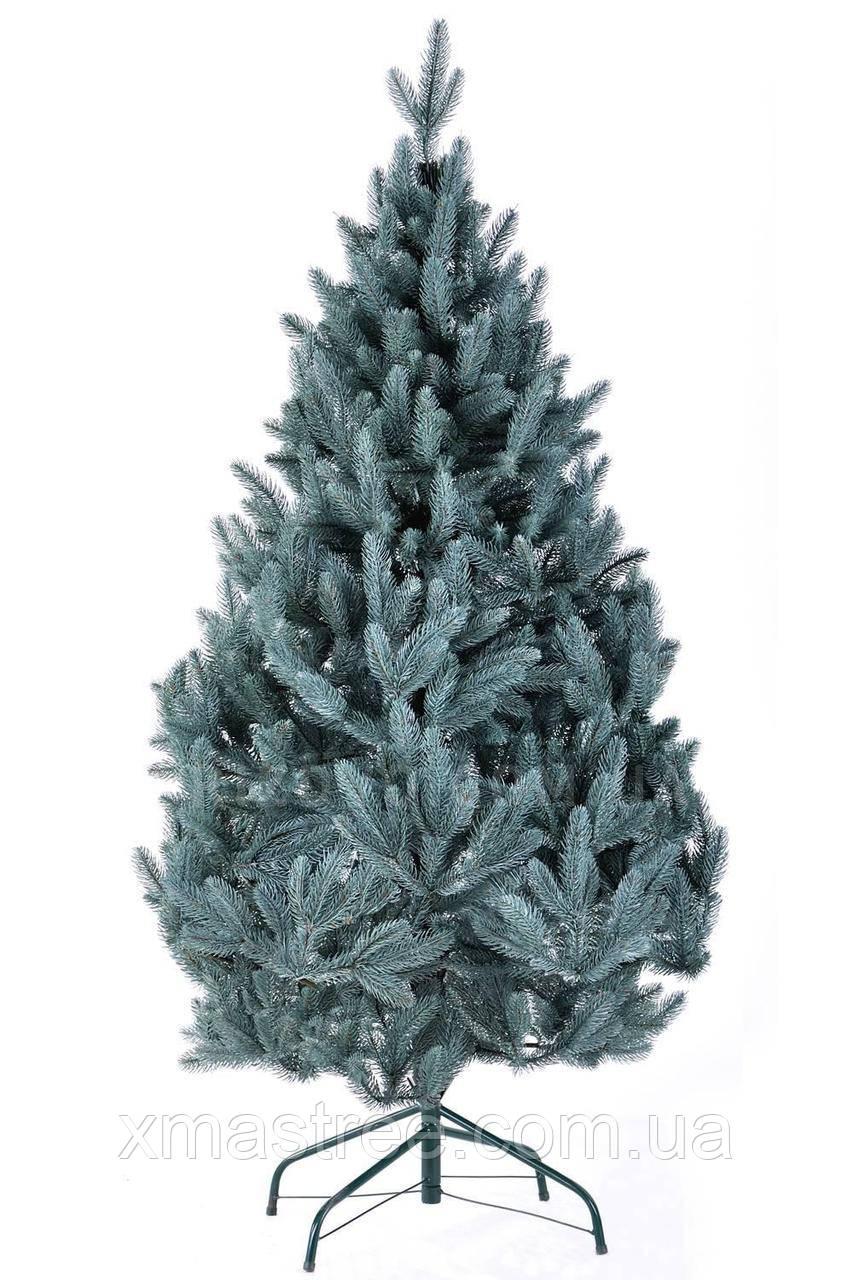 Елка новогодняя литая Голубая 150 см