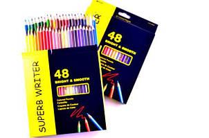 """Олівці кольорові  """"Superb writer"""" 48 кольорів, арт. 4100-48СВ, MARCO"""